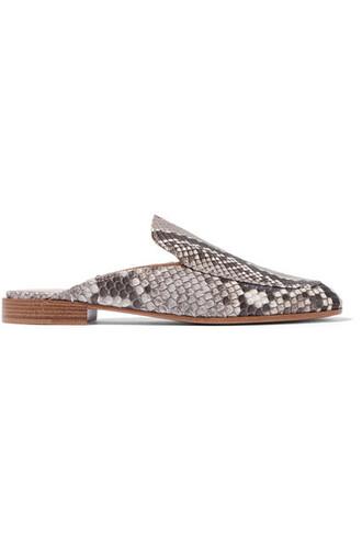 snake python slippers print snake print shoes