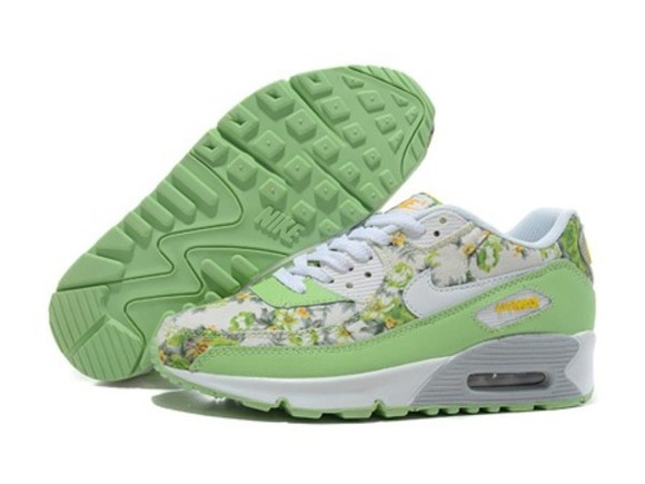 shoes nike green nike air nike air max nike airmax floral