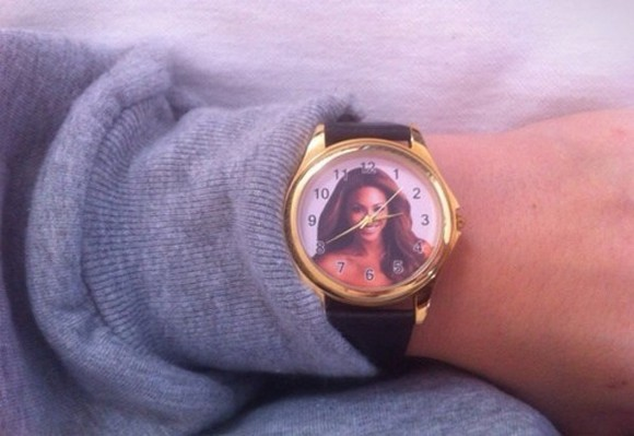 beyonce jewels gold clock wristband wristwatch watch watches tumblr tumblr clothes accessories grunge soft grunge hipster hiphop 90s grunge 90s hipsters
