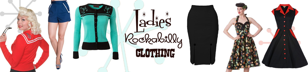 Bow & Crossbones | Rockabilly Clothing, kitsch & vintage inspired jewellery