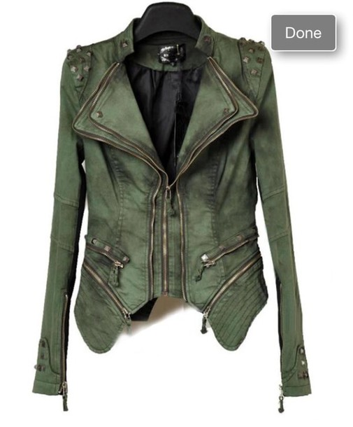 jacket studs punk