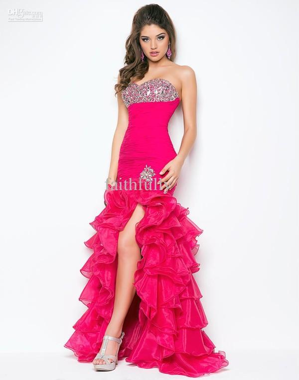 dress pink hilo dress prom dress