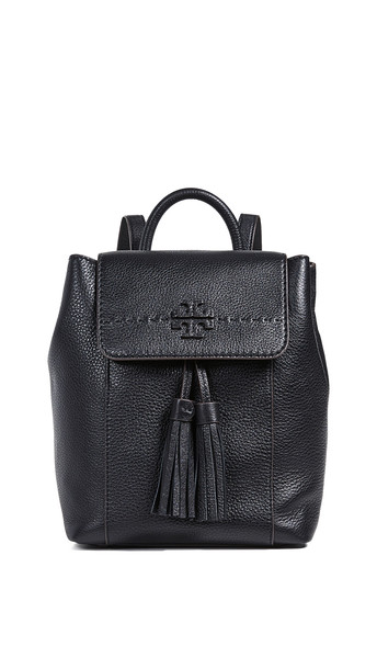 Tory Burch Mcgraw Backpack in black