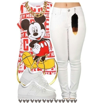 mickey mouse nike