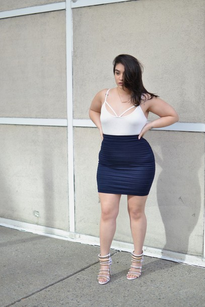 skirt: nadia aboulhosn, curvy, blogger, shoes, plus size skirt