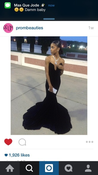dress black dress long prom dress prom dress