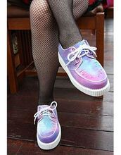 shoes,creepers,purple,pink,blue,white,flats,grunge,soft grunge,pale,colorful,grunge shoes,cute,pastel platforms,instagram,pastel goth