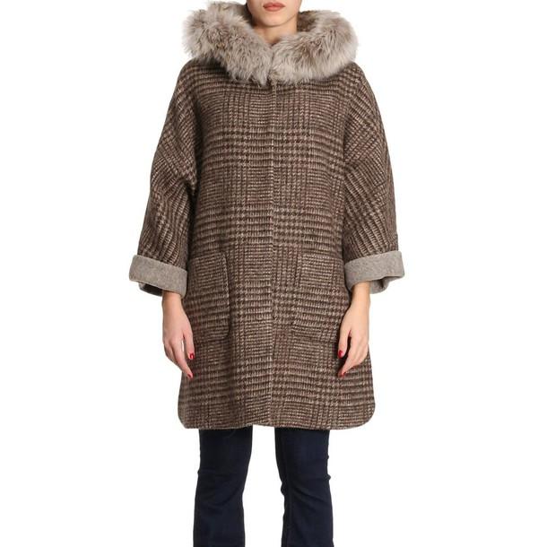 Schneiders coat women beige