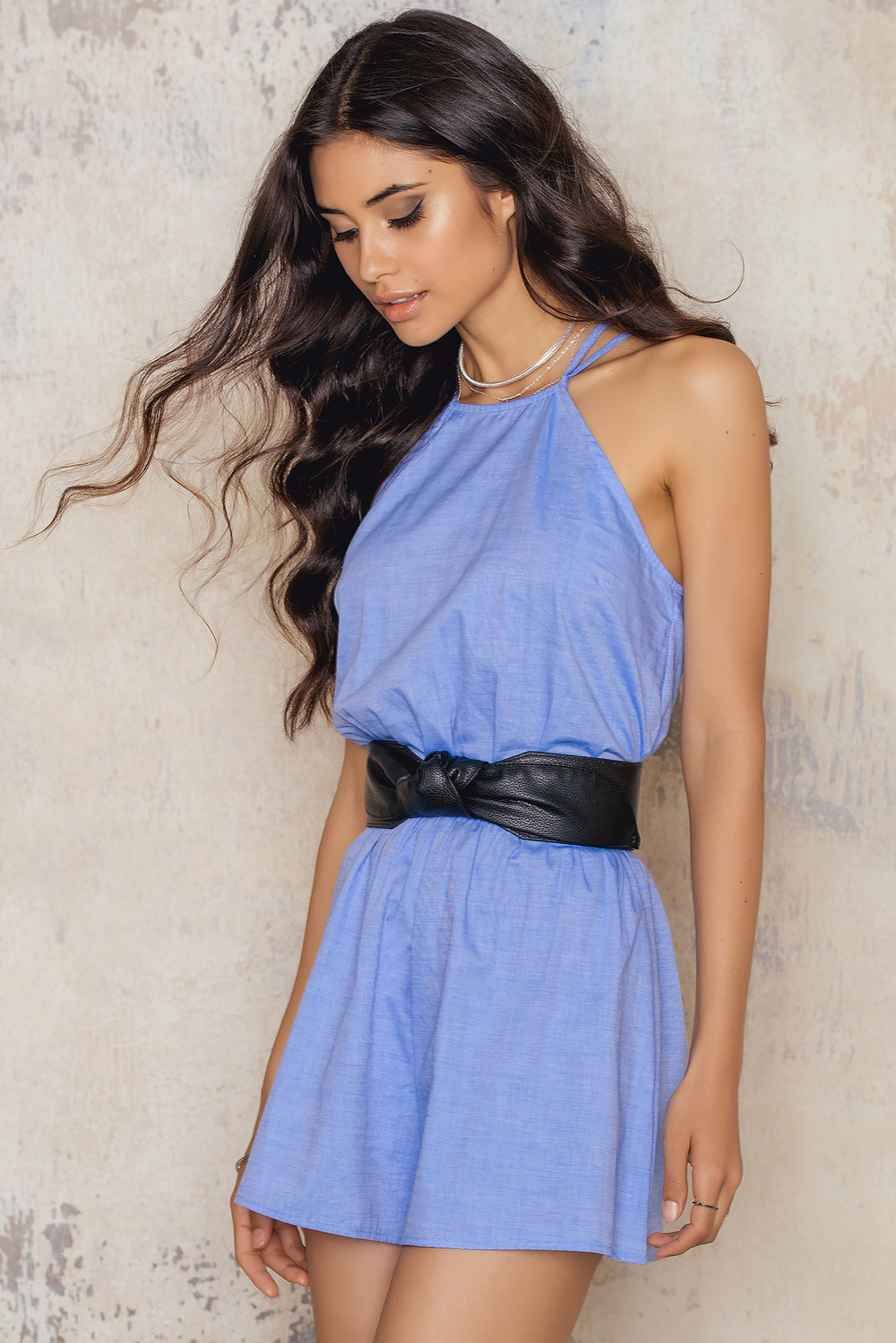 171b8dfe1f Linen Billow Front Playsuit. Toby Heart Ginger Candy Playsuit in chambray