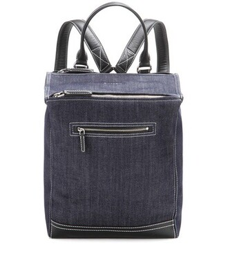 denim backpack denim backpack blue bag