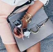 bag,grey bag,shoulder bag,chloe bag,chloe faye bag