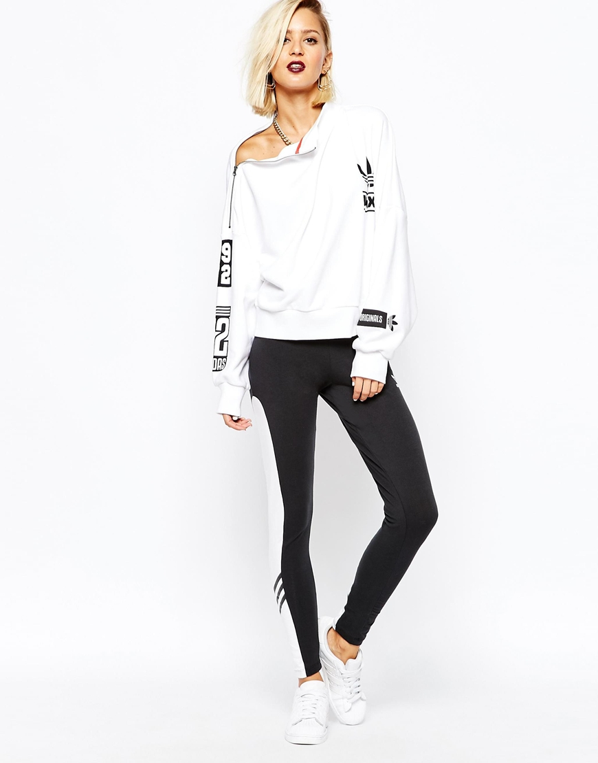 Originals Contrast Ora Rita With At Panel Leggings Adidas dwXgxd
