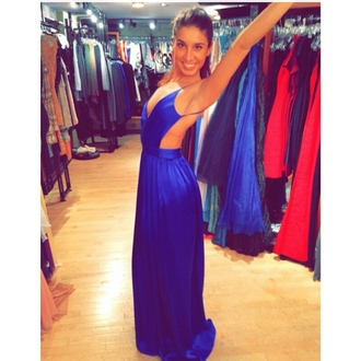dress formal blue prom
