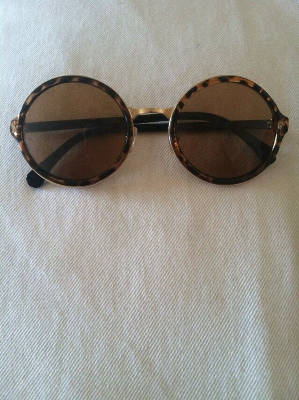 sunglasses brown sunglasses round sunglasses