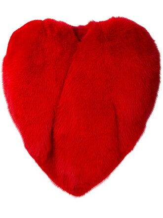 cape heart red top