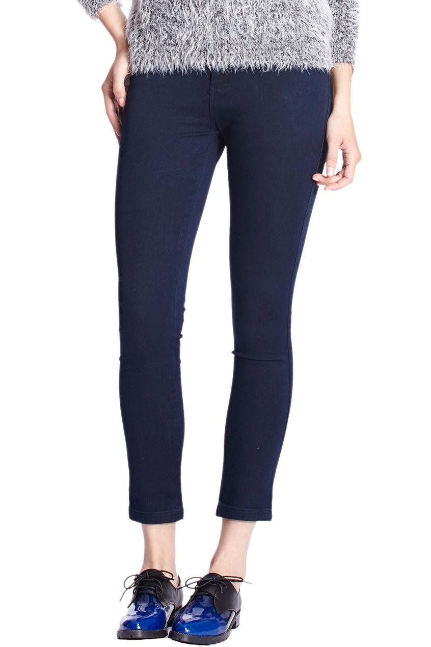ROMWE | High-waist Blue Skinny Jeans, The Latest Street Fashion
