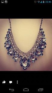 jewels,diamond necklace,necklace,big necklace