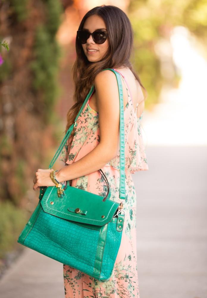 Turquoise bag! – SHOP MY KLOZET