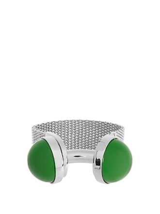 cuff watch silver jewels