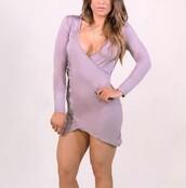 dress,lilac,fashion,style,fall outfits,long sleeves,purple,trendy,freevibrationz,free vibrationz