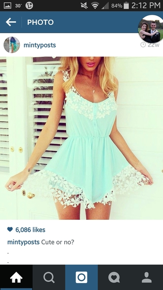 romper beautiful lace romper beautiful romper cute blue romper