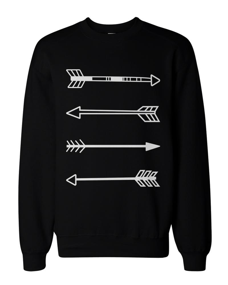 Tribal arrows graphic sweatshirts