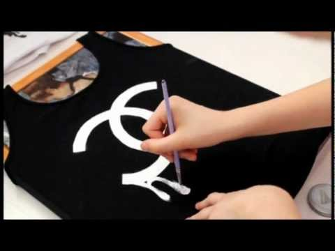Chanel Logo Shirt Diy 14