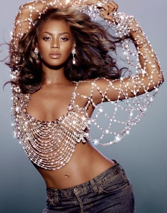 jewels embellished jacket rhinestones embellished top beyonce blouse bra diamonds pretty sexy dangerously in love album beyonce fashion beyonce formation formation silver