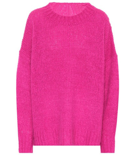 Isabel Marant, Étoile Sayers wool-blend sweater in pink