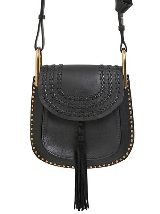 studs bag leather bag leather black
