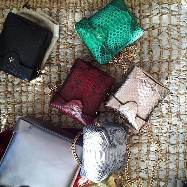 bag manu atelier crossbody bag mini bag metallic bag