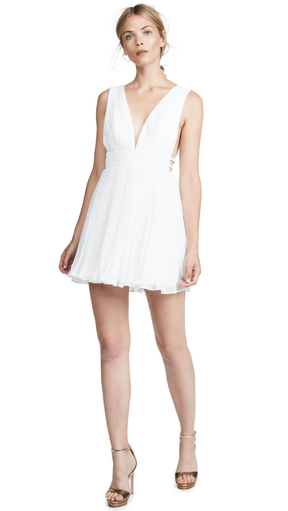 Fame and Partners The Briella Dress in white
