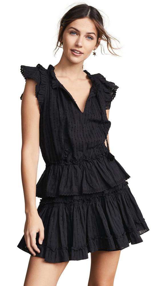 MISA Lillian Dress in black