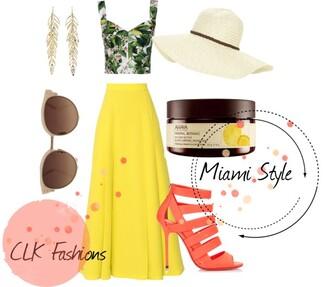 skirt maxi skirt heals sunglasses floppy hat lotions