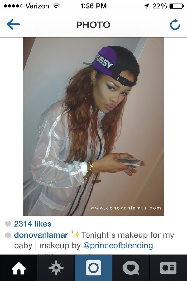 coat teyana taylor white coat stussy