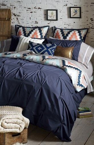 home accessory bedding aztec home decor navy aztec print coat cute bedding blue beddig aztec bedding gold pillow