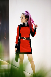 aika y,aika's love closet,blogger,dress,belt,shoes,bag,jewels