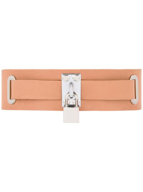 love belt brown