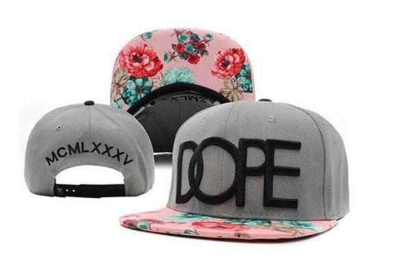 dope snapback flowers