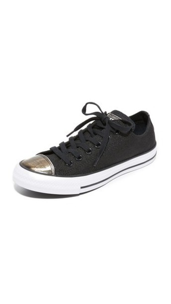 converse sneakers silver white black shoes