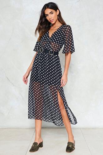 dress polka dots