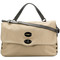 Zanellato - messenger tote bag - women - leather/polyester - one size, nude/neutrals, leather/polyester
