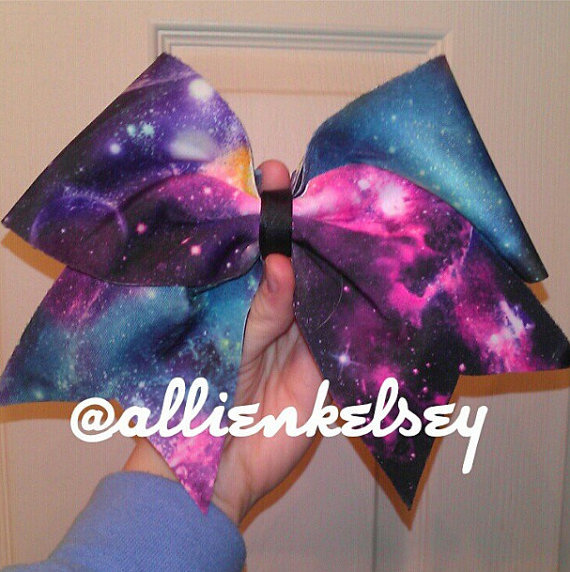 Galaxy Bow by AandMsBOWtique on Etsy on Wanelo