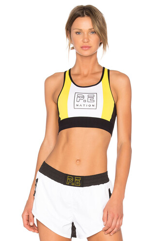 bra sports bra white underwear