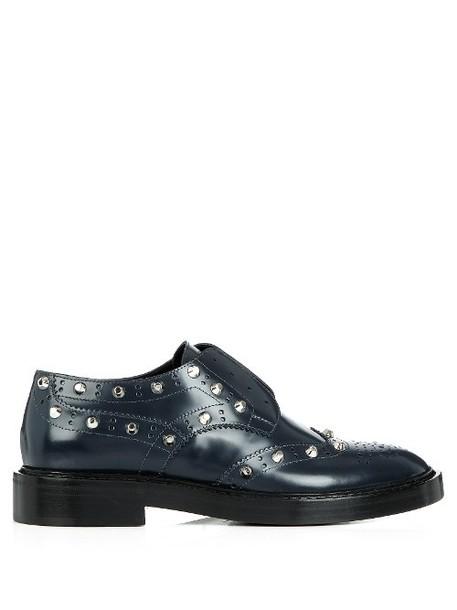 Balenciaga classic navy shoes