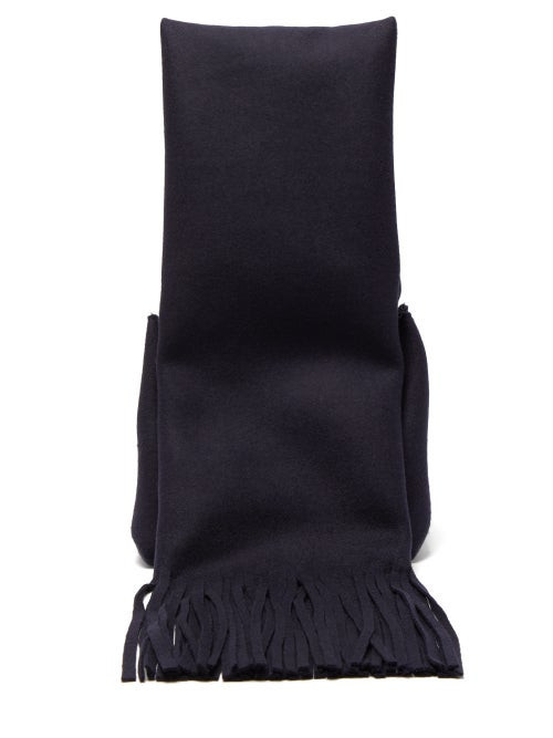 Inhabit black cotton layered hem turtleneck sweater | BLUEFLY up to 70% off designer brands