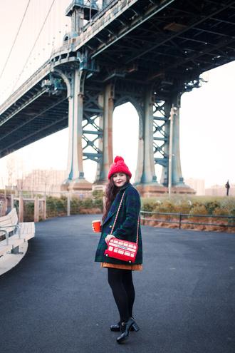 noelles favorite things blogger dress coat bag hat jewels shoes