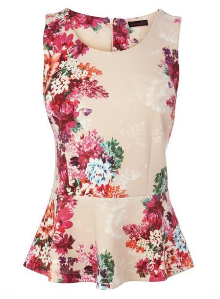 top floral dress