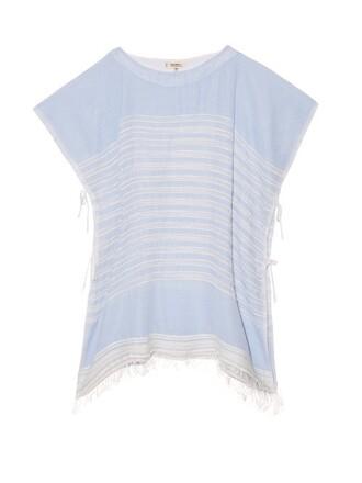 top open weave light blue light blue