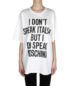 MUCHSKINO I don't Speak Italian T-shirt (2 colors available) – Glamzelle